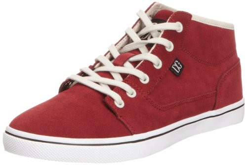DC Shoes Womens Bristol Mid Le Low-Top Trainers D0320061 Wine 3 UK, 36 EU, 5 US