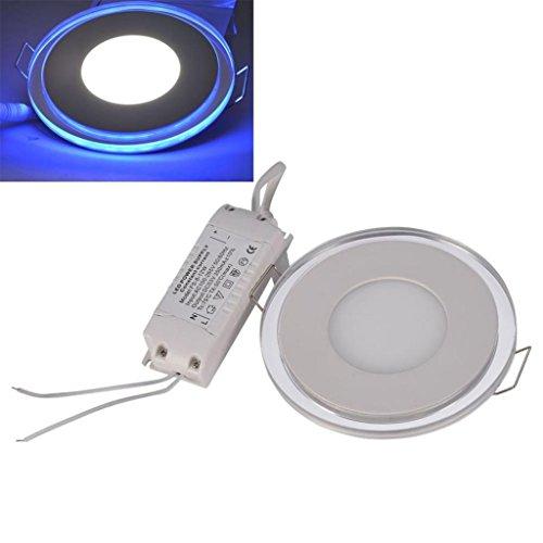 Lonyung Ac 85-265V Square Led Panel Light Downlight 10W Warm White Light