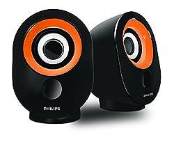 Philips SPA-502.0 speaker with USB Plug (Orange)