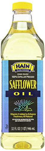 Hain Pure Foods Safflower Oil, 32 Ounce