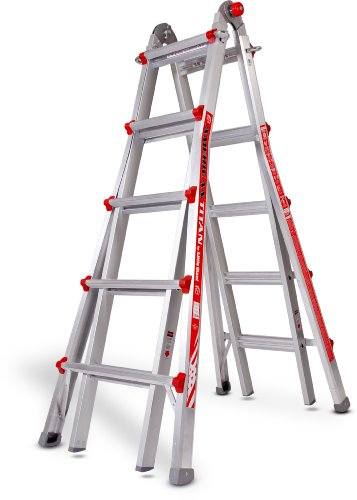 Model 22 Type 1 Little Giant Ladder 10303 250lb rated - Includes all 3 Accessories: Work Platform, Leg Leveler, Wall Standoff 'Wing Span'