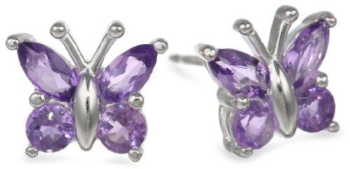 Sterling Silver Butterfly Earrings