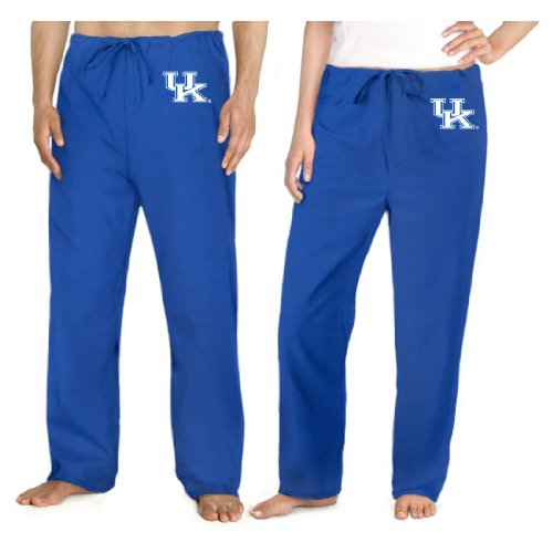 University Of Kentucky Scrubs Bottoms Pants-Size Med- Uk Wildcats Logo Men Ladi front-915304