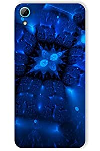 IndiaRangDe Case For HTC Desire 826 Printed Back Cover