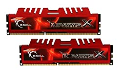 G.SKILL Ripjaws X Series 16GB (2 x 8GB) 240-Pin DDR3 SDRAM 1600 (PC3 12800) Desktop Memory F3-12800CL10D-16GBXL
