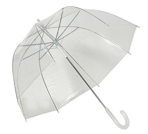 Susino Ombrello classico, Trasparente (Trasparente) - 3476