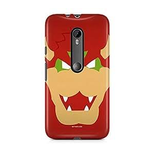 Motivatebox-Moto G3 (Third Generation) cover-Funny Cartoon Polycarbonate 3D Hard case protective back cover. Premium Quality designer Printed 3D Matte finish hard case back cover.
