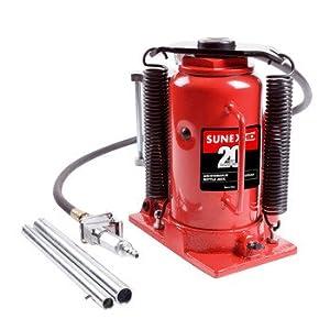 Sunex 4920CAH 20-Ton Air Hydraulic Bottle Jack