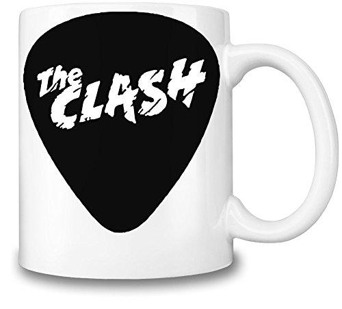 The Clash Logo Tazza Coffee Mug Ceramic Coffee Tea Beverage Kitchen Mugs By Genuine Fan Merchandise