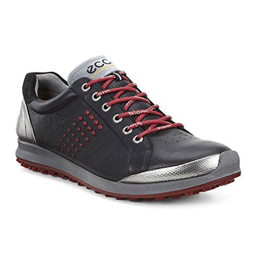 Ecco Mens Biom Hybrid Golf Shoes (black/brick)