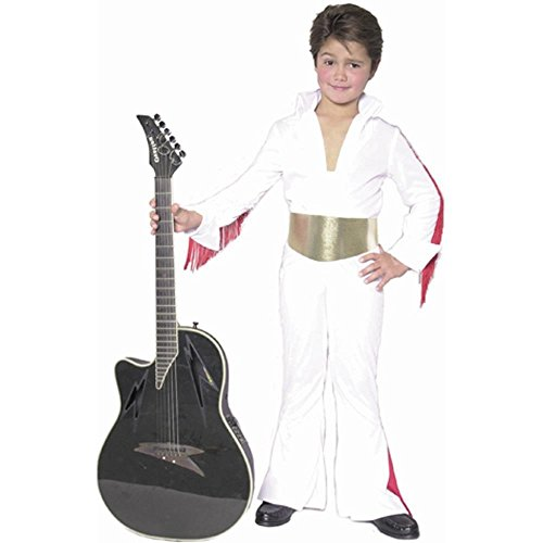 Kid's Elvis Rock Star Costume (Size:Medium 8-10)