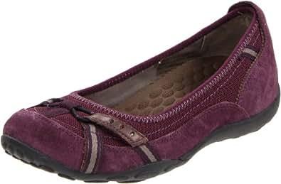 Privo Women's Cosign Slip On Flats,Purple,13 M