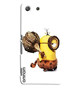 Omnam Minion In Early Age Printed Designer Back Cover Case For Sony Xperia M5
