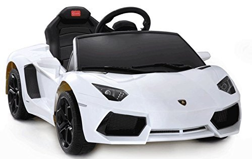 Lamborghini Aventador 6V Ride On Kids Battery Powered Wheels Car RC Remote