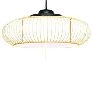 NEC 蛍光灯和風ペンダント (4.5~8畳用) 7CK29SG