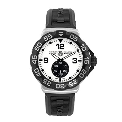 TAG Heuer Men's WAH1011.BT0717 Formula 1 Grande Date White Dial Watch