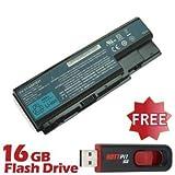 Battpit Batterie d'ordinateur Portable de Remplacement pour Acer Aspire 7520-5907 (44