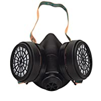 Profi Atemschutz Halbmaske mit Filtern A1, Gasmaske, Staubmaske Atemschutzmaske
