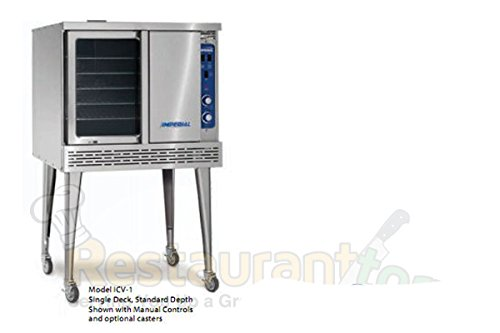 Imperial Commercial Convection Oven Single Deck Standard Depth Propane Model Icv-1