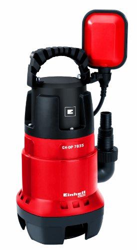 Schmutzwasserpumpe GC-DP 7835 (780 Watt, max. 15.700 l/h, max. 8 m Förderhöhe, Fremdkörper bis 35 mm, stufenloser Schwimmerschalter)
