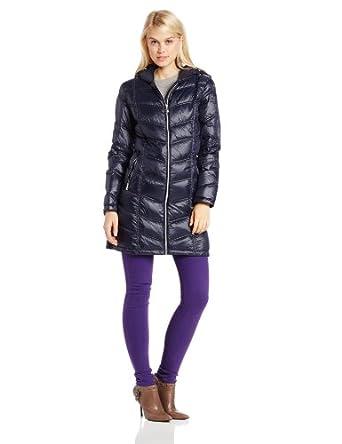 (新品)卡尔文克莱恩Calvin Klein 女式中长羽绒服 $120