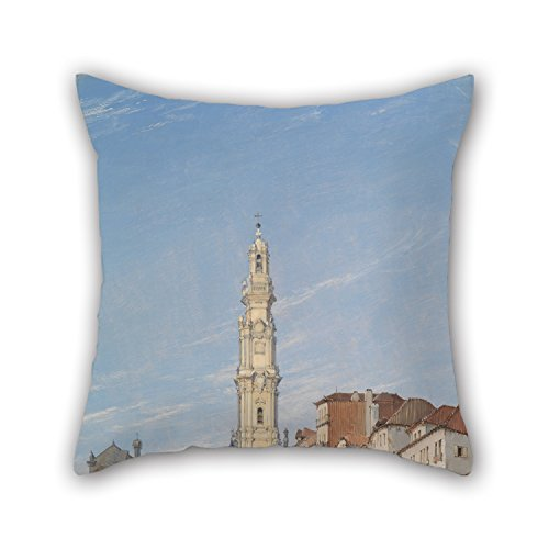 loveloveu-oil-painting-james-holland-torre-dos-clerigos-oporto-portugal-throw-pillow-case-16-x-16-in