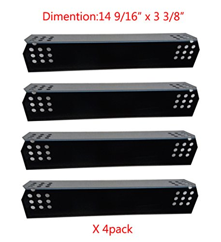 For Sale! 97371(4-pack) Porcelain Steel Heat Plate Replacement for Select Grill Master and Uberhaus ...