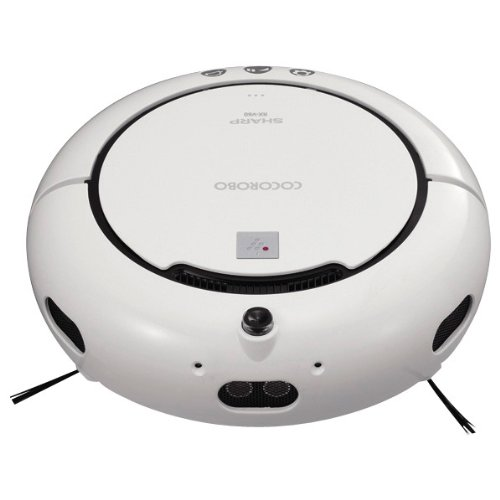 SHARP プラズマクラスター搭載ロボット家電COCOROBO コンパクトタイプ RX-V60-W