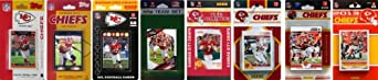 NFL Kansas City Chiefs 8 Different Licensed Trading Card Team Sets by C&I Collectables