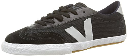 Veja - Volley, Stringate da donna, nero (1115/black/oxford/grey), 41