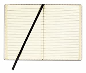 TOPS Designer Berlin Case Bound Writing Tablet, 8.25 x 5.75 Inch, 72 Sheets, Tan with Crème Colored Sheets (GJ5029)