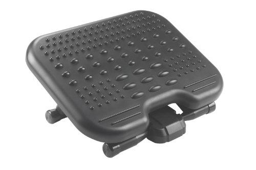 Kensington SoleMate Comfort Footrest with Gel Tilts 0-18 Degrees H90-120mm Platform W450xD350mm Ref 56153