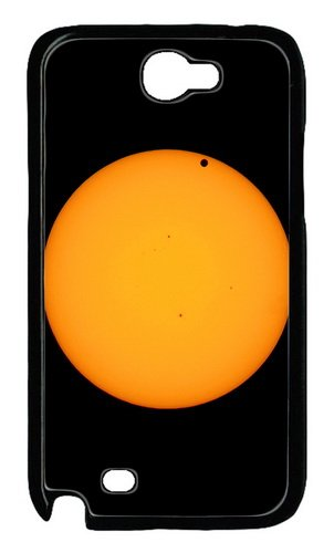 Venus And Sun Telescope Polycarbonate Hard Case Cover For Samsung Galaxy Note 2/ Note Ii/ N7100 Black