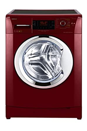 Beko WMB 71443 PTER Waschmaschine Frontlader / A+++B / 171 kWh/Jahr / 1400 UpM/ 7 kg / Pet Hair Removal / großes Display / rot