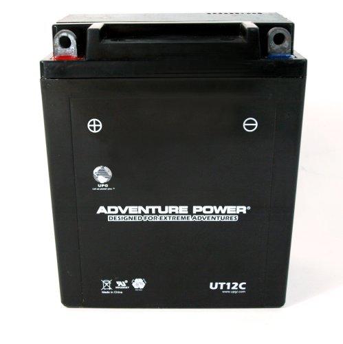 UPG UT12C Adventure Power Power Sport AGM Series Sealed AGM Battery