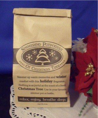 Christmas Simmering Potpourri O Christmas Tree