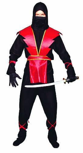 Red Ninja Master Teen Costume