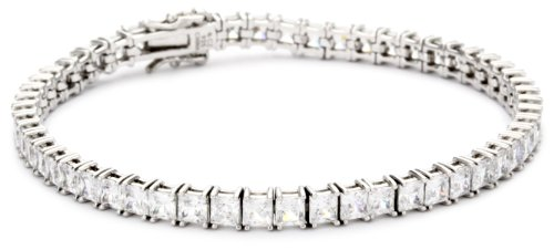 "Myia Passiello ""Essentials"" Tennis Bracelet Made with SWAROVSKI ZIRCONIA, 7.25"""