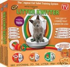 Litter Kwitter Cat Toilet Potty Training System - Buy Litter Kwitter Cat Toilet Potty Training System - Purchase Litter Kwitter Cat Toilet Potty Training System (Litter Kwitter, Home & Garden, Categories, Pet Supplies)