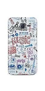 Casenation Music Dance Party Samsung Galaxy J5 Matte Case