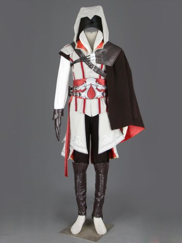 CosTop Assassin's Creed 2 Ezio Assassin 2th Ver Hoodie Costume for Man and Child