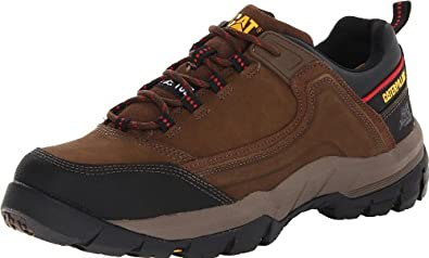 Caterpillar Men's Crompton ST Work Boot,Dark Brown,8 M US
