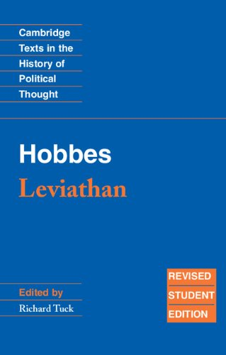 Hobbes: Leviathan: Revised student edition (Cambridge...