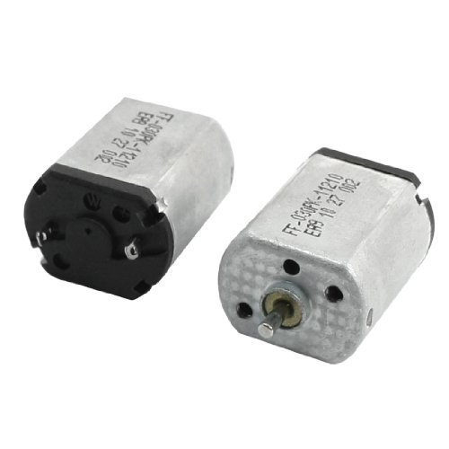 Water & Wood 2Pcs 12800Rpm 2Pin Connector Dc 6V 030-11210 Micro Motor For Aircraft With Car Cleaning Cloth