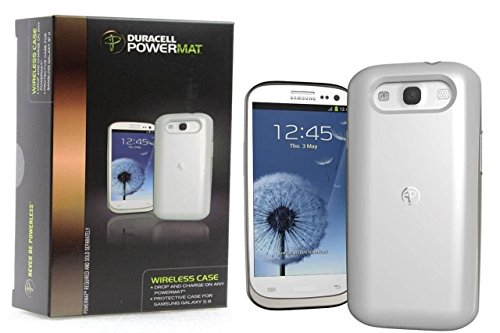 Duracell Powermat Wireless Charging Case for Samsung Galaxy S3 White RCG3W1 (Duracell Charging Pad compare prices)