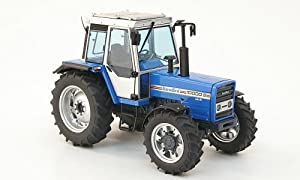 Amazon.com: Landini 10000 S, light blue, 1986, Model Car, Ready-made