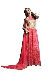 Sitaram womans long gown with dupatta.