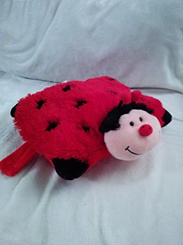 "PeeWee Ladybug Pillow Pets - Red/Black (11"") - 1"