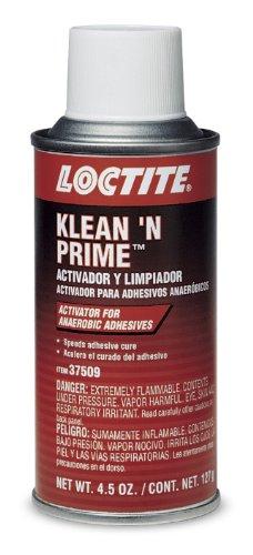 Loctite 37509 Klean 'N Prime Anaerobic Activator Aerosol Can, 4.5-oz.