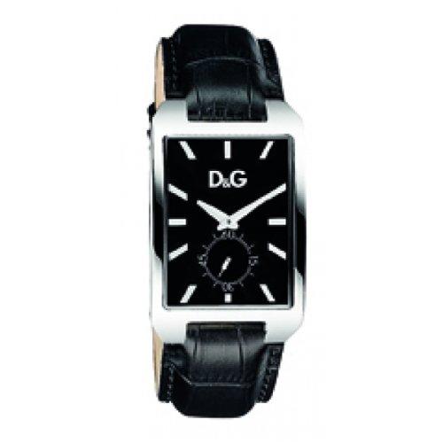 0e2fdb464 D&G Dolce&Gabbana Dolce&Gabbana DW0772 - Reloj para hombres, correa de  cuero color negro
